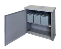 Battery closets for storage solutions