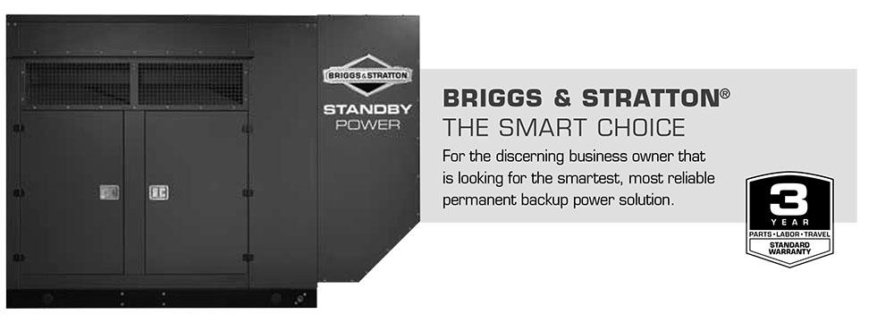 Briggs & Stratton Natural Gas STANDBY GENERATOR